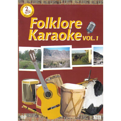 Folklore Karaoke vol 1- DVD
